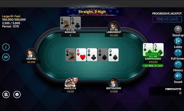 Fantastic World Poker стол